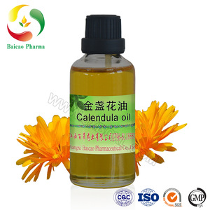 organic & fresh cold pressed calendula oil
