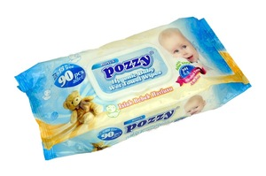 Pozzy Baby and Family Wet Wipes 120pcs, 100pcs, 90pcs, 72 pcs
