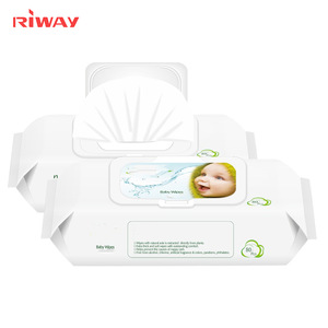 September Purchasing Biodegradable and Flushable 80cts Baby Wet Wipes in Flow Pack