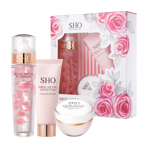 Sho玫瑰花瓣盛开套装