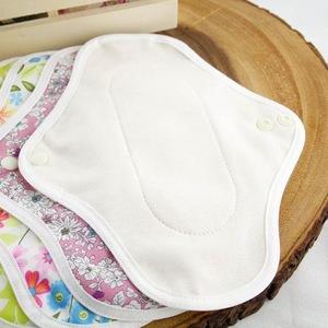 Women Menstrual Reusable Bamboo Cloth Sanitary Napkin Pads brands Washable