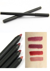 wood pencil empty packaging tube lip liner
