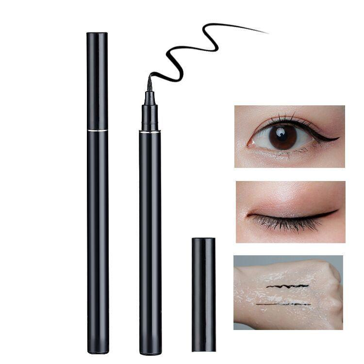 Eyeliner own brand to accept waterproof OEM sexy makeup liquid eyeliner low order quantity