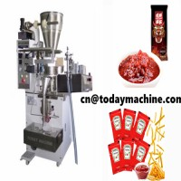 small bag 500g peanut butter pouch packaging machine with sides seal