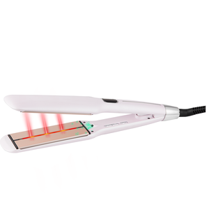 2019 New flat iron  1.5 inch infrared hair straightener with OEM Service