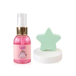Custom body care product hot sell spa bath bomb gift set