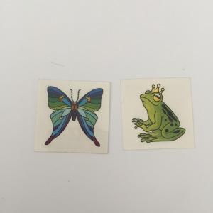 Customized Temporary Waterproof colorful cartoon tattoo sticker