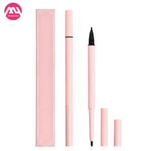 Double head black waterproof beauty makeup long effect liquid eyeliner