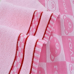 Fieldcrest luxury towels summer hotel bath towel china supply kids animal towels