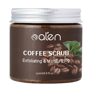Hit Organic Deep Cleanse And Exfoliation Body Moisturizing Coffee Scrub