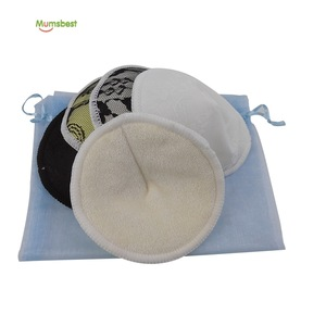 Mumsbest High Quality Free Sample Bamboo Nursing Pad in Sweat Pads Washable
