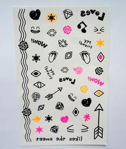 non-toxic children tattoo sticker,hot waterproof temporary tattoo sticker,black fashion temporary tattoo flash tattoo body art