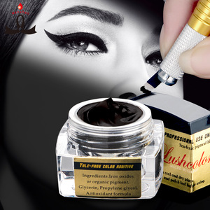 OEM Service 5ml / Bottle Lushcolor Paste Micro Tattoo Pigment For Eyebrow