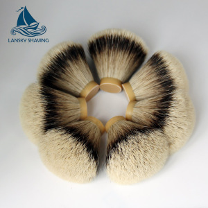 OEM shaving brush made up different type material shaving knots and shaving handle china supplier