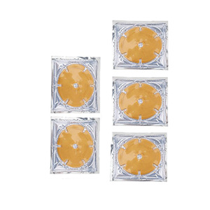 OEM/ODM Collagen Hyaluronic Acid Promote Blood Circulation Firming Tightening 24 k gold breast mask