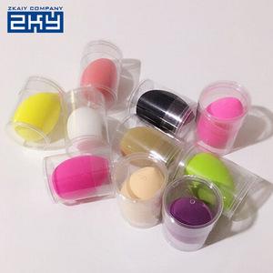Silicone Makeup Sponge Blender Beauty Original Cosmetic Puff Powder Puff Original Packing Blender Foundation Women Make Up Tools