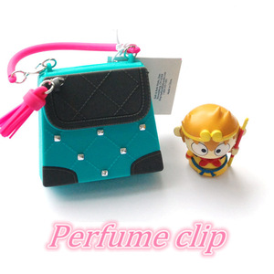 Sweet and active women perfume with silicone cover