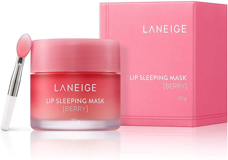 Lip Sleeping Mask- Moisturizers 20 g, Berry,2019 Renewal for Laneige