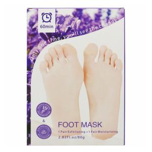 2020 Amazon Hot Selling  Moisturizing Socks Exfoliating Foot Peel Mask Remove Dead Skin Foot Peeling