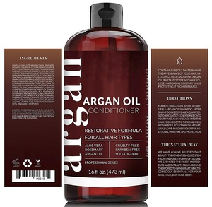 Best Private Label Organic Hair Argan Oil Conditioner For Hair Care