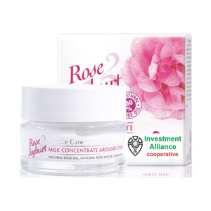 Bulgarian Rose Eye Concentrate cream around eyes with Bulgarian Rose oil and yoghurt Product of Bulgaria
