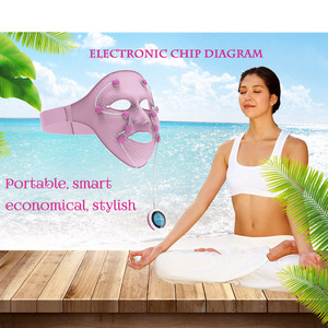 Facial Mask Wrinkle Removal Beauty Skin Care Vibration Anti-aging Firming Anti-wrinkle Spa Machine Rechargeable