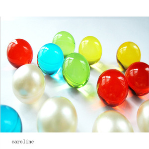 hot sale wholesale Round plant essential oil pearl beads bath beads