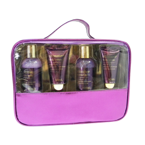 Lavender and rose fragrance bath and body work spa bath gift set