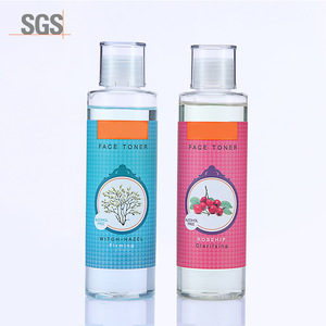 oem hot selling brightening deep cleansing rose water for rediant skin witch hazel water for purified skin toner