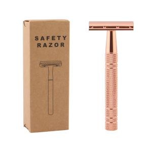 Old-fashioned shaving manual shaving razor double-sided blade manual shaving razor