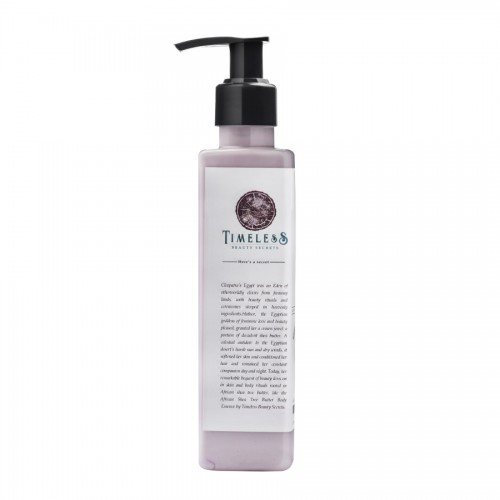 Timeless Beauty Secrets Exotic Shea Butter Moisturizing Lightening Anti Microbial, Luxury Hand & Body Lotion