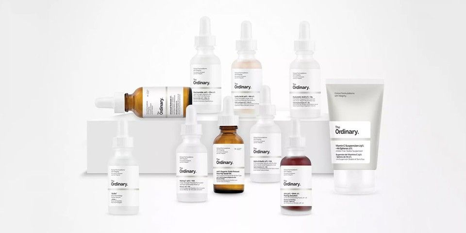The ordinary skin care and hair care cosmetics for sale