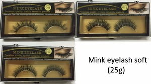 100% handmade high quality false eyelashes mink eyelashes