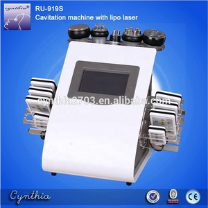 Best price laser cavitation fat system ls650 cavitation slimming vacuum machine Cynthia RU 919S