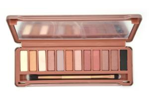 Best sale waterproof makeup compact powder cosmetics makeup nude 3 eye shadow palette