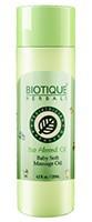 Biotique Bio Almond Oil - Baby Soft Massage Oil - 120ml