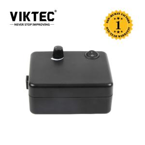 Black Mini Aibrush Compressor With Pressure Adjusting Konb For Makeup Nail Tattoo Cake Bakery Tan Car Paint