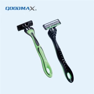 Comfortable Men Travel Hotel Safety Disposable Triple Blade Shaving Razor Blade