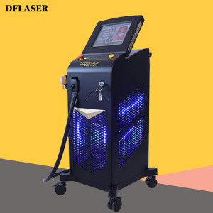 DFLASER 2021 Soprano Ice Platinum 755 808 1064  1600w Diode Laser Hair removal Treatment Machine