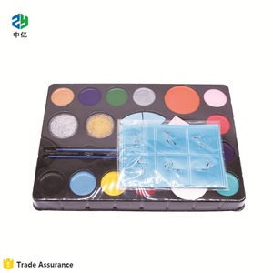 face painting supplies Non Toxic Water Based Professional Body Makeup Painting Set