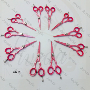 Hot Pink Barber Scissors / Hair Cutting Scissors / Best Salon Scissors Aveda International