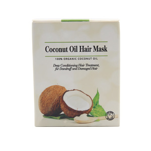 Hot Sale OEM ODM 100% Natural Deep Conditioning Coconut Oil Hair Mask For Hair Care