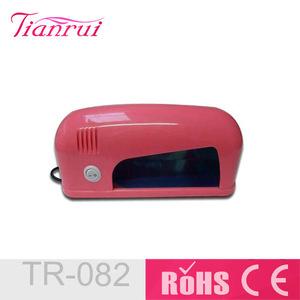 Mini 9W UV Lamps Tools UV Sterilizer For Nail Salon Equipment(Red)