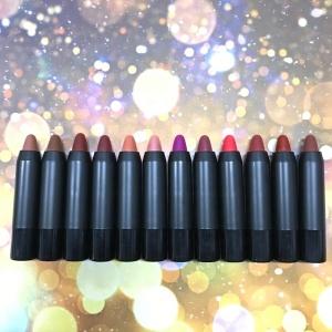 No Logo Lip Matte Lipstick Crayon 12 Color Lipstick Low Moq