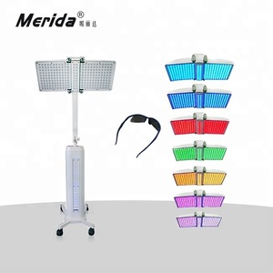 PDT led facial light/phototherapy skin care/led pdt bio-light therapy beauty machine