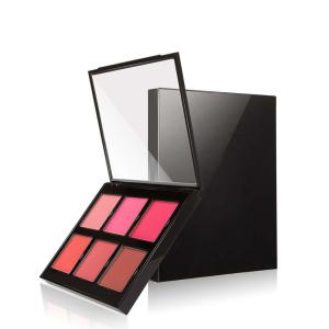 Private label makeup blusher 6 colors blush palette