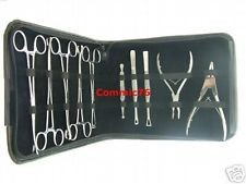 Professional Body Piercing Tools Kit Stainless Steel