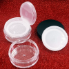 Cute Plastic Container Double Layer Loose Powder Case