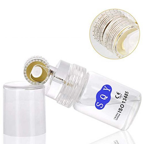 64 Hydra needles Gold Micro Needle Derma Roller Stainless Steel /Hydro Roller