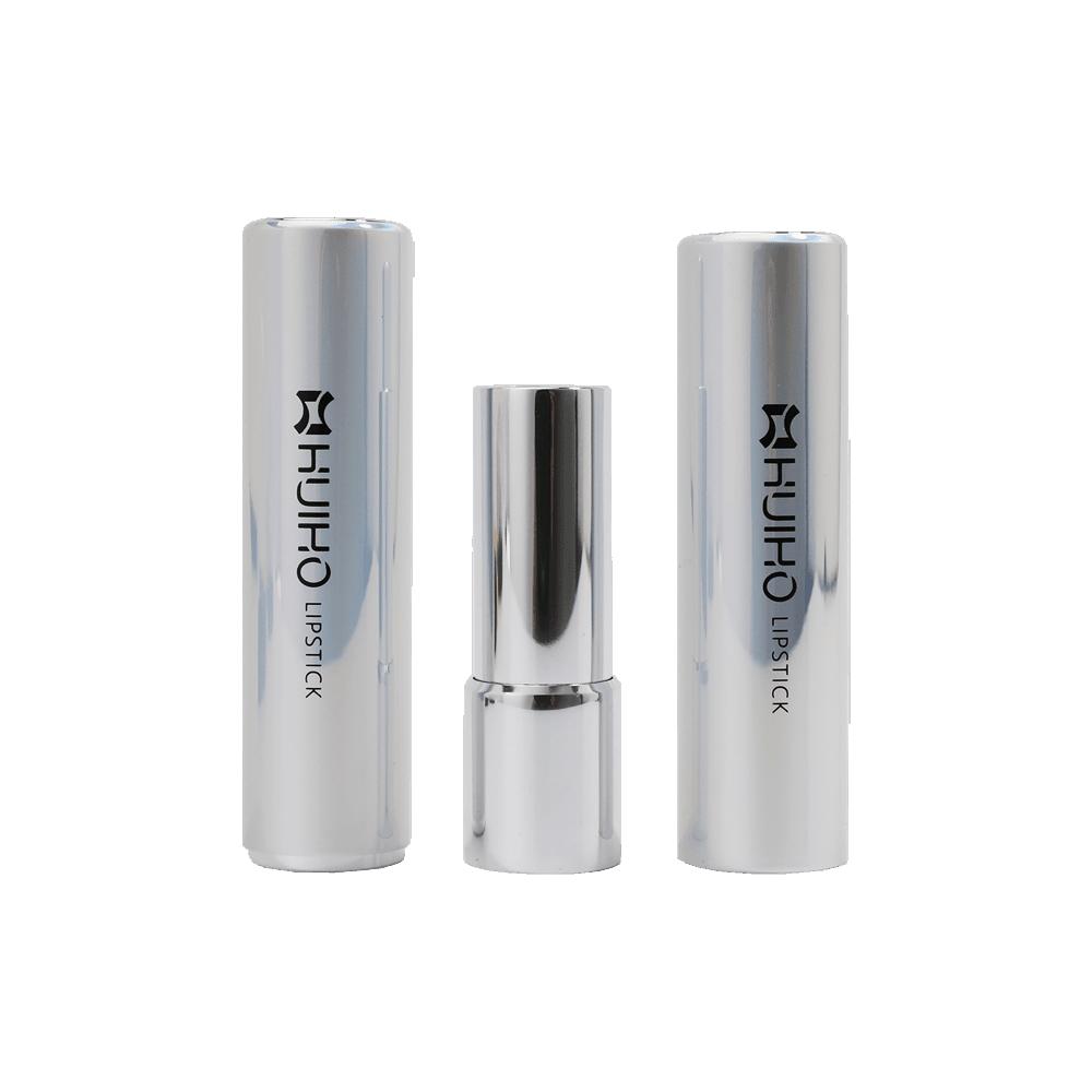 lipstick Round tube gray packaging